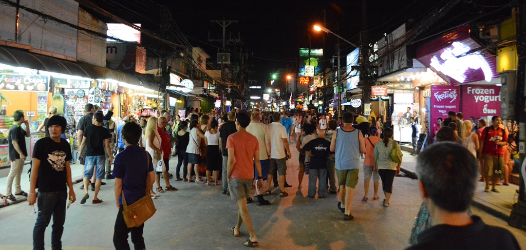 Exchange Commercial Space for Rent in Bangla road - Patong beach