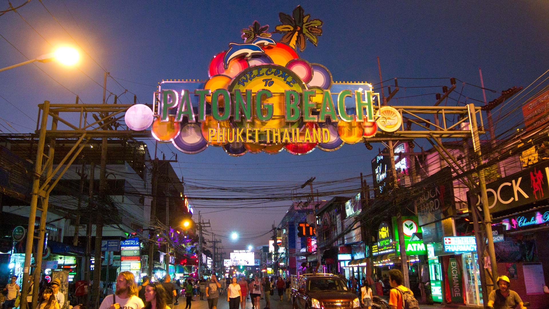 Building with shop for Rent Bangla road Patong beach